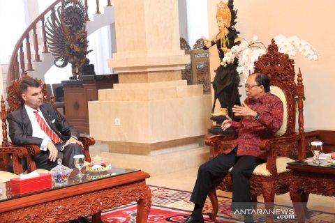 Gubernur Bali berbagi pengalaman penanganan COVID-19 dengan Dubes Austria