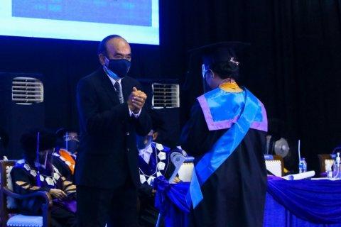 Wisuda Universitas Pancasila di gelar secara daring