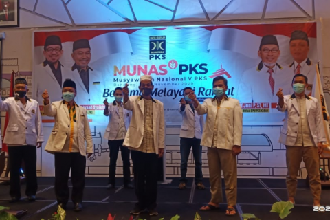 DPW PKS Kalbar Ikut Munas V Secara Virtual
