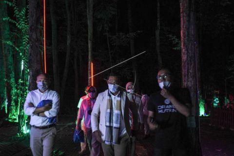 Gubernur Jabar resmikan Hutan Menyala