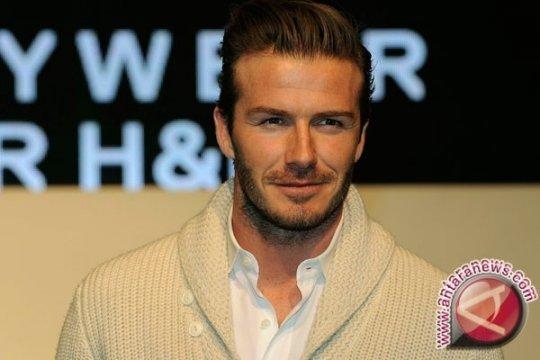 David Beckham jadi model iklan jam tangan