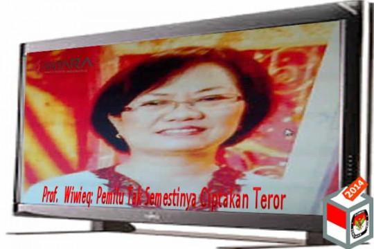 Prof.  Wiwieq: Pemilu Tak Semestinya Ciptakan Teror