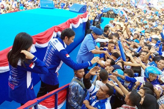 Ibas Optimistis Warga Jabar Cinta SBY dan Demokrat