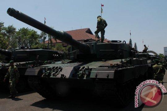 Persiapan Alutsista Jelang Peringatan HUT TNI