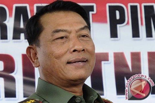 Mantan Panglima TNI Moeldoko jabat Kepala Staf Kepresidenan