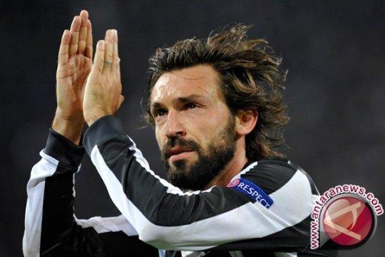 Gol Ajaib Andrea Pirlo Kokohkan Posisi Juventus