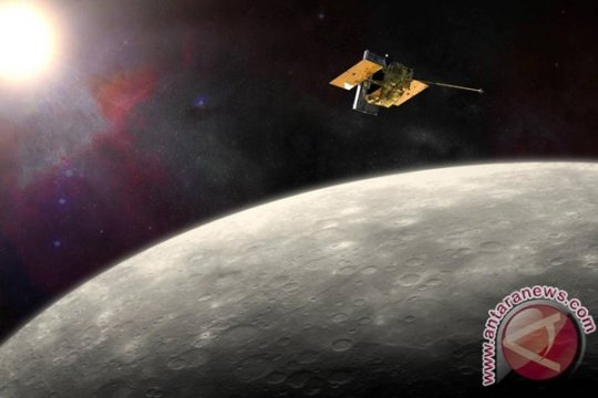 Pesawat Antariksa NASA Tabrak Permukaan Merkurius