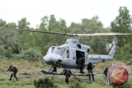Latihan Gabungan Pasukan Khusus PPRC Di Tarakan