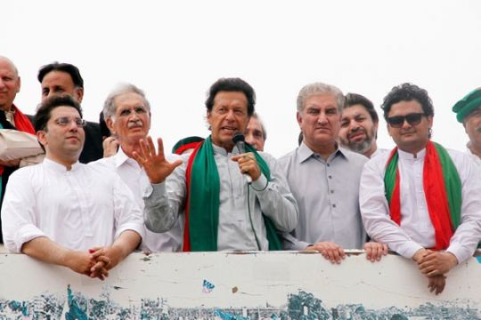 Partai Imran Khan menang dalam pemilu Kashmir Pakistan