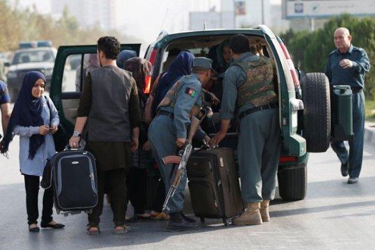 Universitas Kabul diserbu, 22 orang tewas