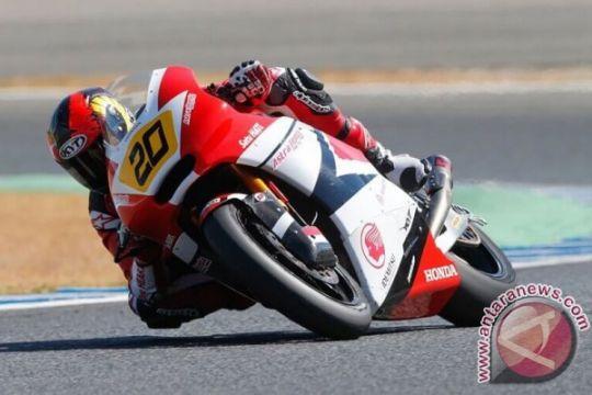 Alex Marquez juarai Moto2 GP, Dimas Ekky terjatuh