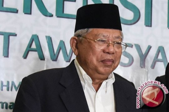 Maruf Amin tidak hadiri diskusi Megawati Institute