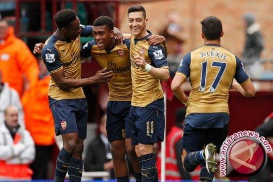 Sempat Tertinggal Dua Gol, Arsenal Bekuk Ludogorets 3-2