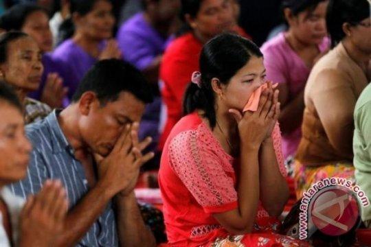 59 Jasad Korban Tewas Kecelakaan Pesawat Myanmar Telah Ditemukan