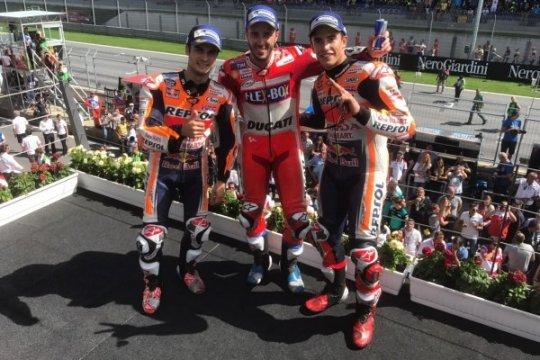 Klasemen MotoGP, Dovizioso Dekati Marquez