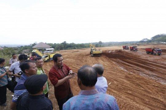 Lintasan MXGP 2018 di Semarang mulai digarap