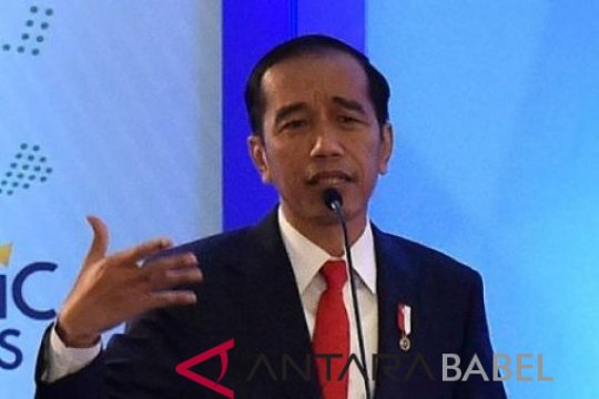 Presiden Jokowi tegaskan jajaran TNI dan Polri harus netral