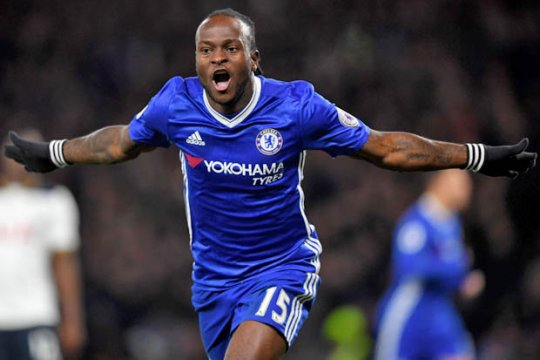 Chelsea resmi meminjamkan Victor Moses ke Spartak Moscow