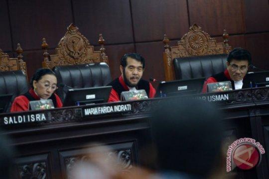 Mahkamah Konstitusi tolak permohonan uji UU tentang MK