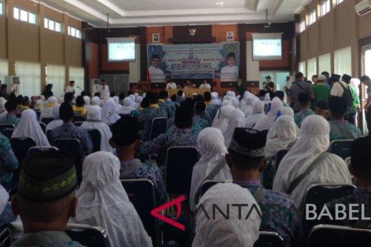 Jamaah Calhaj Belitung diminta antisipasi perubahan cuaca