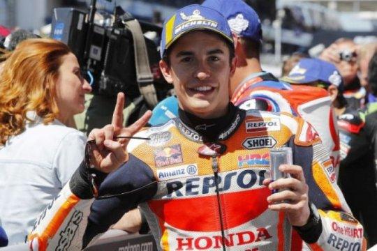 Marquez start terdepan di Jerman kesembilan secara beruntun