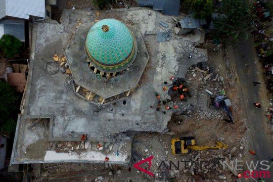 Bangka Tengah bantu masjid Lombok Rp80 juta