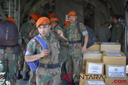 Kostrad lakukan operasi persalinan korban gempa