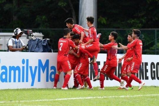 Hasil pertandingan dan klasemen Piala U-16 Asia 2018