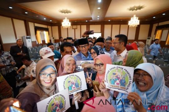 Sandiaga bertemu pengurus Muhammadiyah Jawa Timur