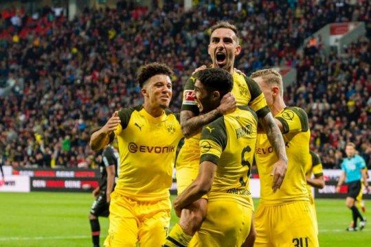 Taklukkan Leverkusen, Dortmund puncaki klasemen Liga Jerman