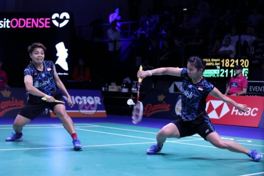 Greysia/Apriyani tantang Matsumoto/Nagahara di semifinal Prancis Terbuka