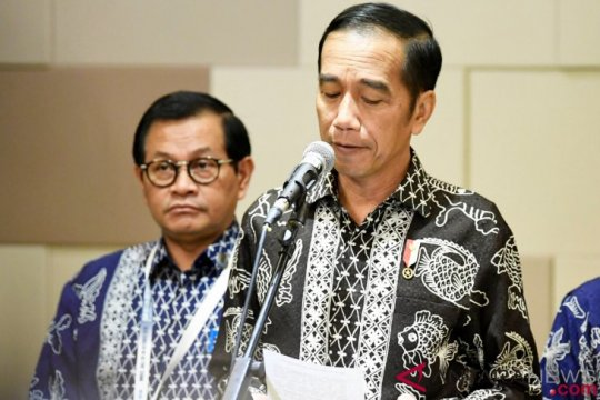 Presiden Jokowi: Angka kemiskinan desa menurun dua kali lipat