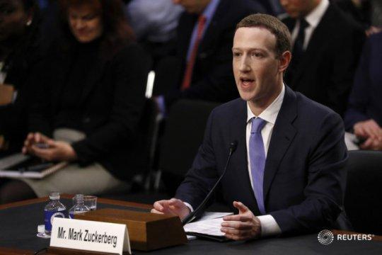 CEO Facebook minta pemerintah perbarui regulasi Internet