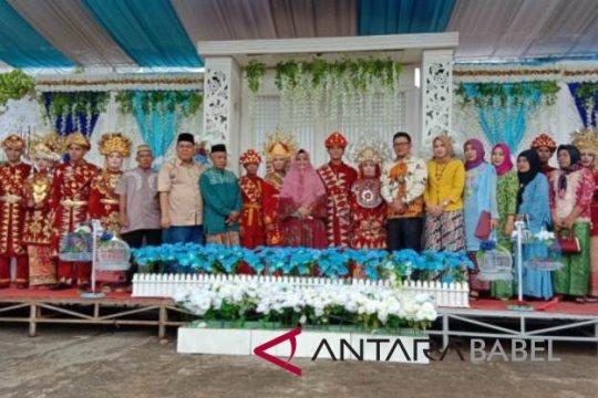 Pemkab Bangka Selatan gelar festival pengantin massal