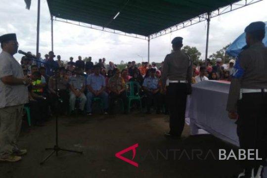Gubernur Babel resmi tutup Posko Krisis Center Lion Air