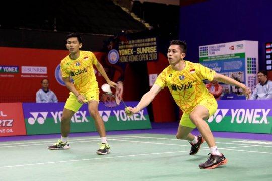 Fajar/Rian melaju semifinal Hong Kong Terbuka
