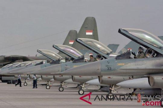TNI AU buka latihan gabungan tempur udara
