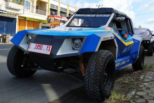 Mobil listrik Blits buatan RI jelajahi 1.605 km