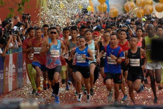 Pelari peserta Borobudur Marathon diminta antisipasi cuaca ekstrem