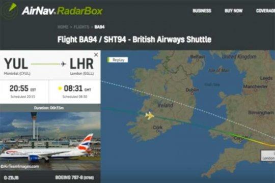 Otoritas penerbangan Irlandia selidiki benda yang diduga UFO