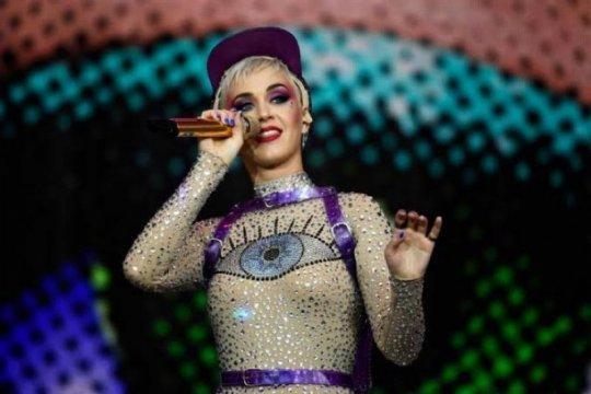 Katy Perry bawakan lagu andalannya di pesta pelantikan Joe Biden