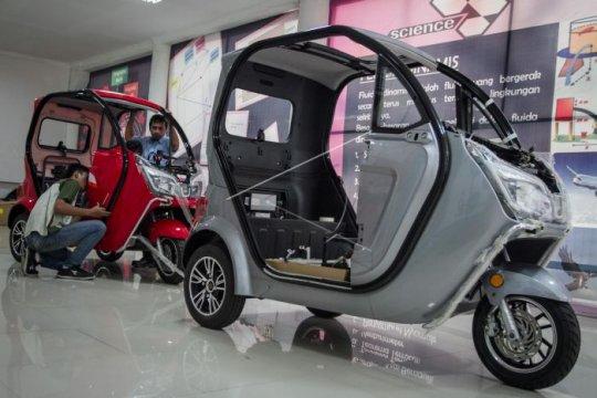 Produksi kendaraan tenaga listrik