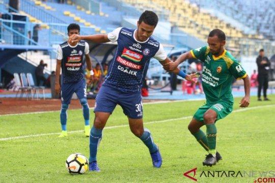Arema kirim Sriwijaya ke Liga 2