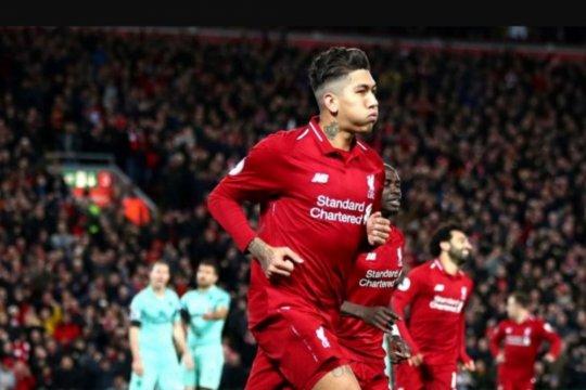 Liverpool sukses bantai Arsenal 5-1 di Anfield