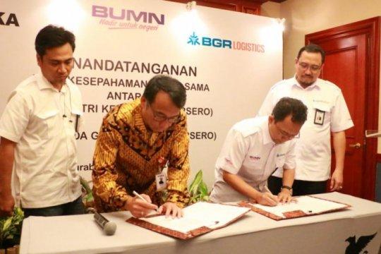BGR Logistics-INKA bersinergi sumber daya perusahaan