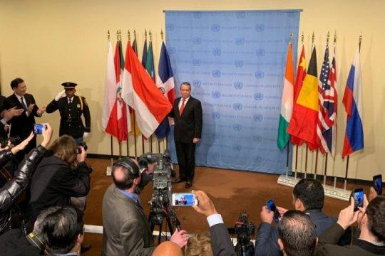 Ditandai pemancangan bendera Merah Putih, Indonesia resmi jadi anggota DK PBB 2019-2020
