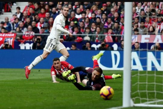 Real menang atas Atletico dalam derby Madrid