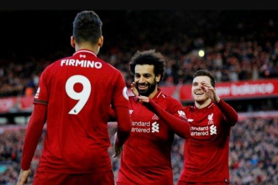 Liverpool kembali ke puncak usai menang 3-0 atas Bournemouth