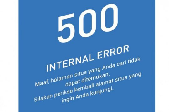 Situs Kominfo sempat alami crash