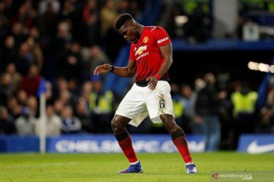 Paul Pogba bawa MU singkirkan Chelsea di Piala FA